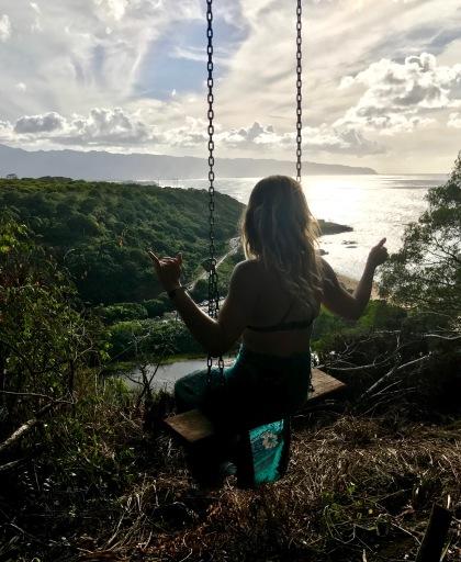 Overlooking Waimea Bay, North Shore, Oahu