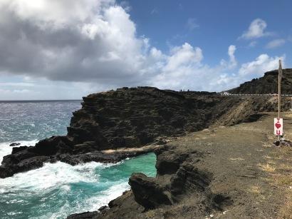 East Side Oahu Blowhole