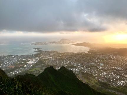 View from Haiku Stairs (Stairway to Heaven)