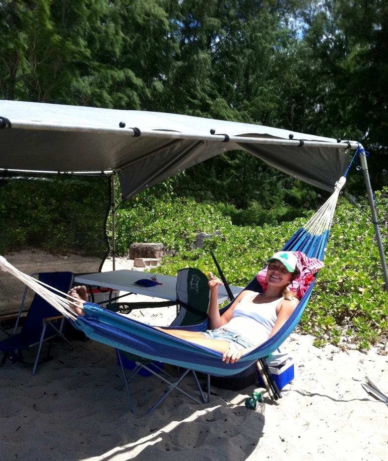 Mokuleia camping
