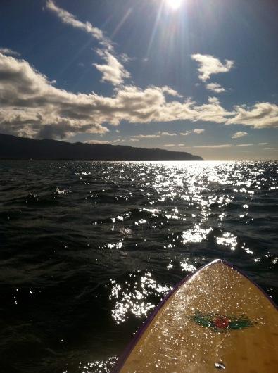 SUPing North Shore Oahu